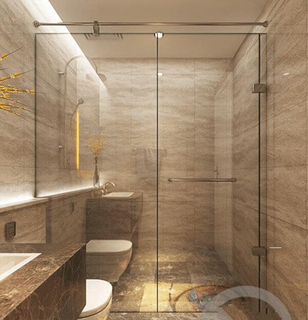 Những mẫu phòng tắm kính đẹp