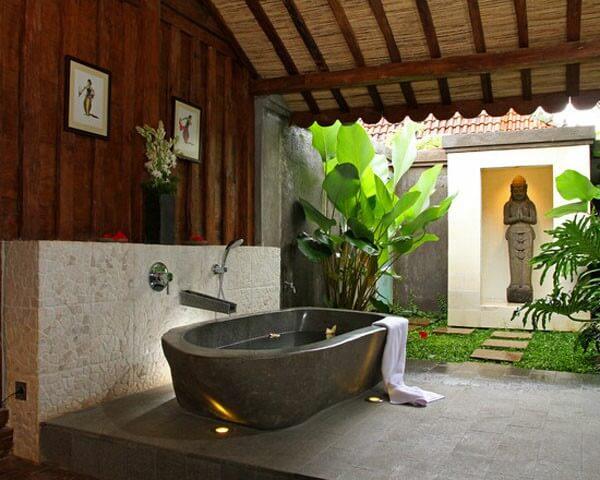 Những mẫu phòng tắm ngoài trời đẹp
