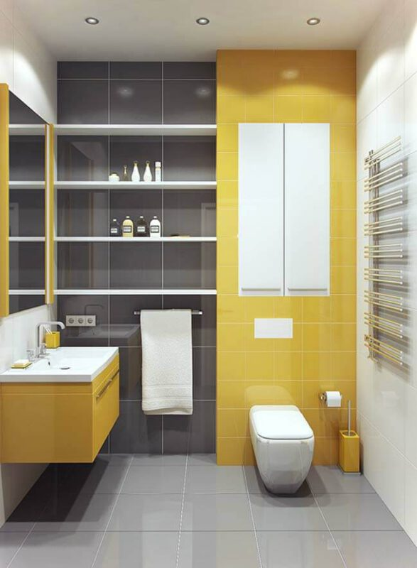 Những mẫu phòng tắm nhỏ mà đẹp