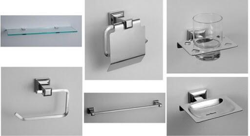Những mẫu phụ kiện phòng tắm đẹp