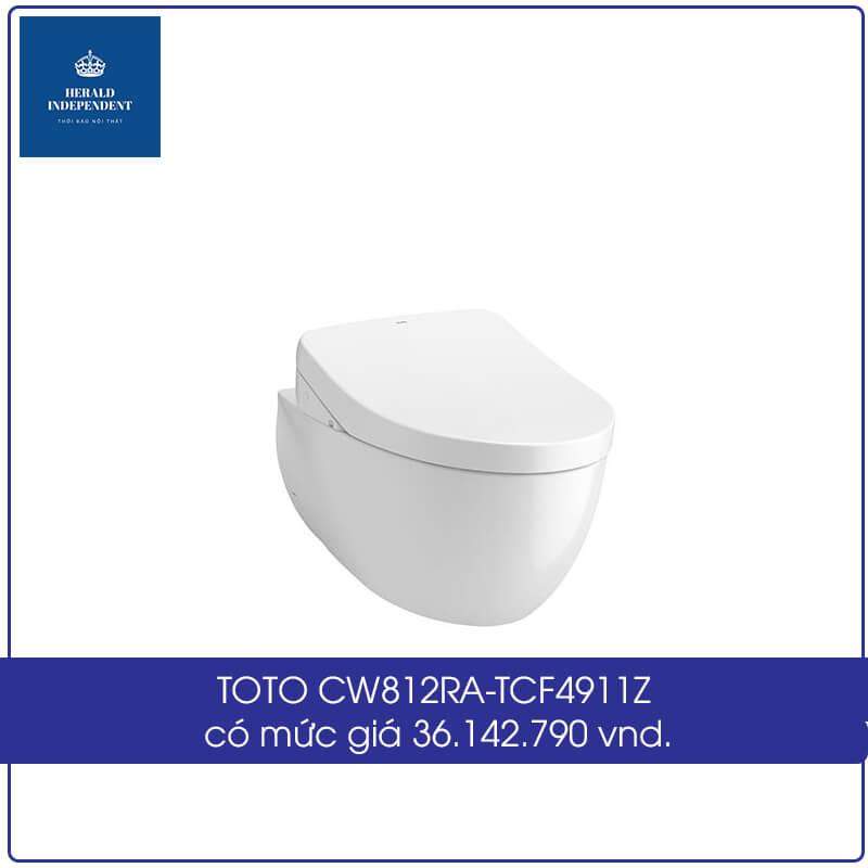 TOTO CW812RA-TCF4911Z