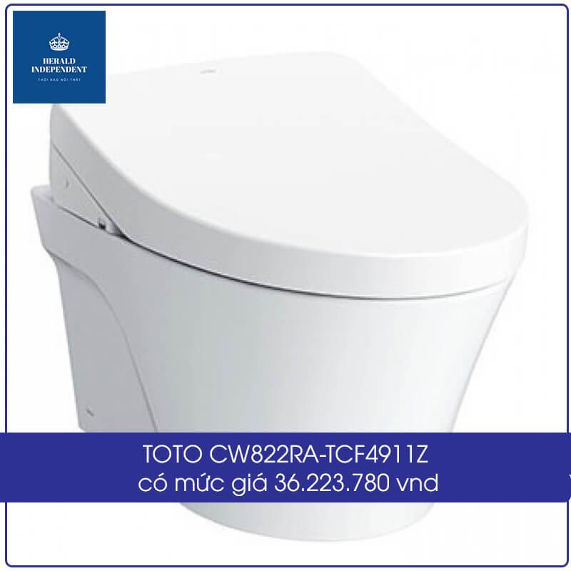 TOTO CW822RA-TCF4911Z