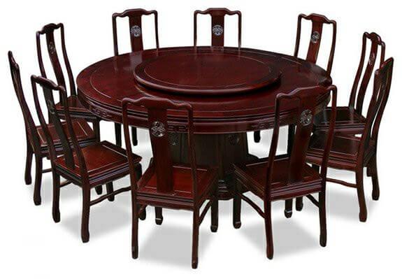 Kích thước bàn ăn 10 người