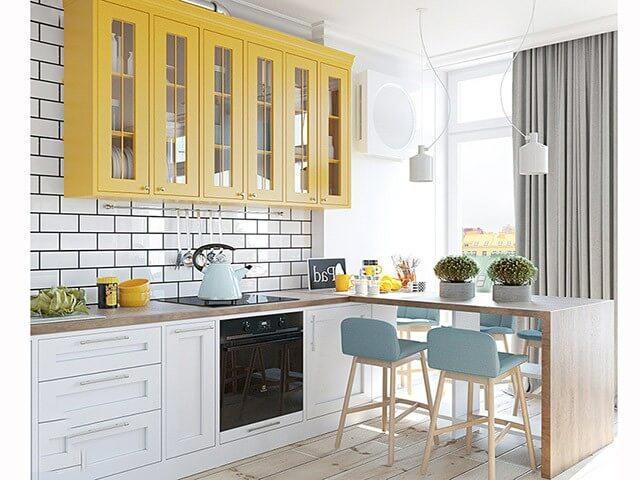 Tham khảo những mẫu thiết kế nhà bếp nhỏ đẹp nhất hiện nay