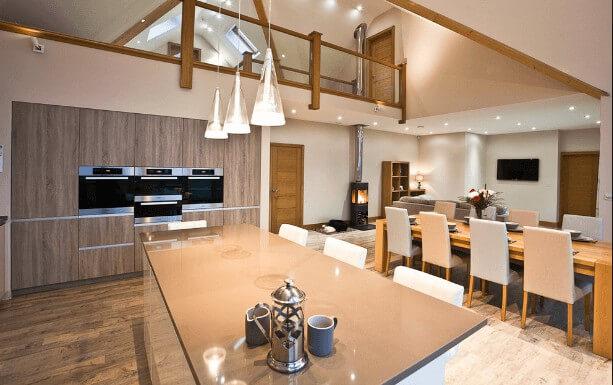Thay đổi ánh sáng trong nhà bếp của bạn