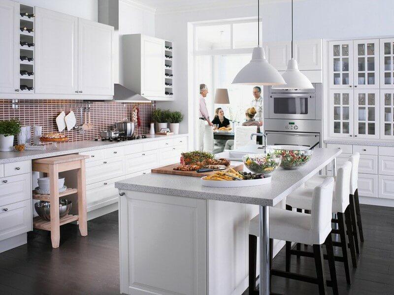 Thiết kế bếp cho nhà nhỏ cần lưu ý những vấn đề gì?
