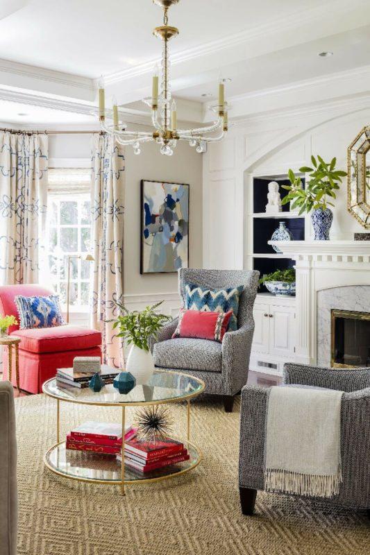 Thiết kế kích thước rèm cửa sổ phù hợp với diện tích phòng khách