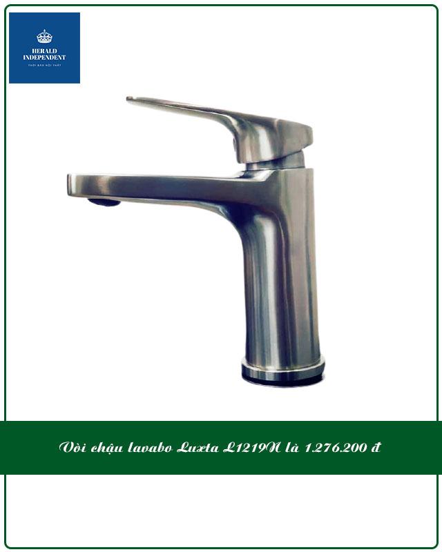 Vòi chậu lavabo Luxta L1219N