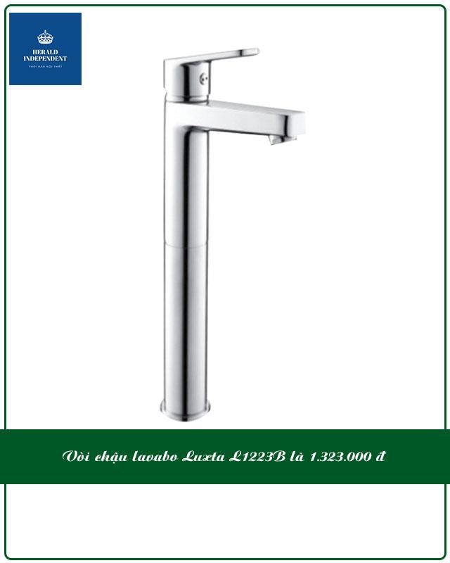 Vòi chậu lavabo Luxta L1223B