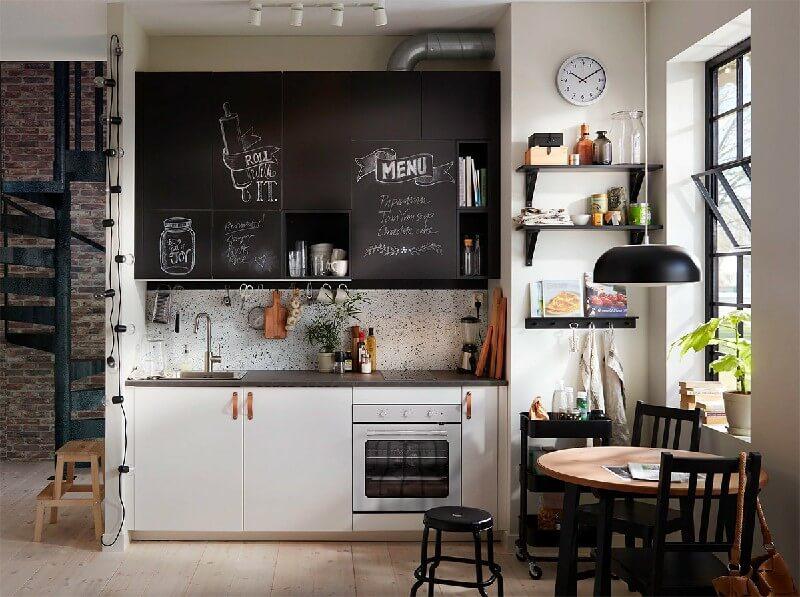 Ý tưởng sáng tạo cho thiết kế nhà bếp nhỏ đơn giản