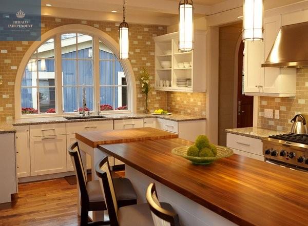 Ý tưởng cửa sổ phòng bếp