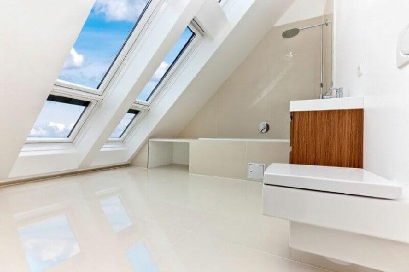 Ý tưởng thiết kế kích thước cửa sổ lật nhà vệ sinh