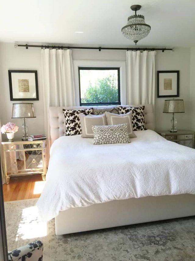 Cửa sổ lớn ngay đầu giường