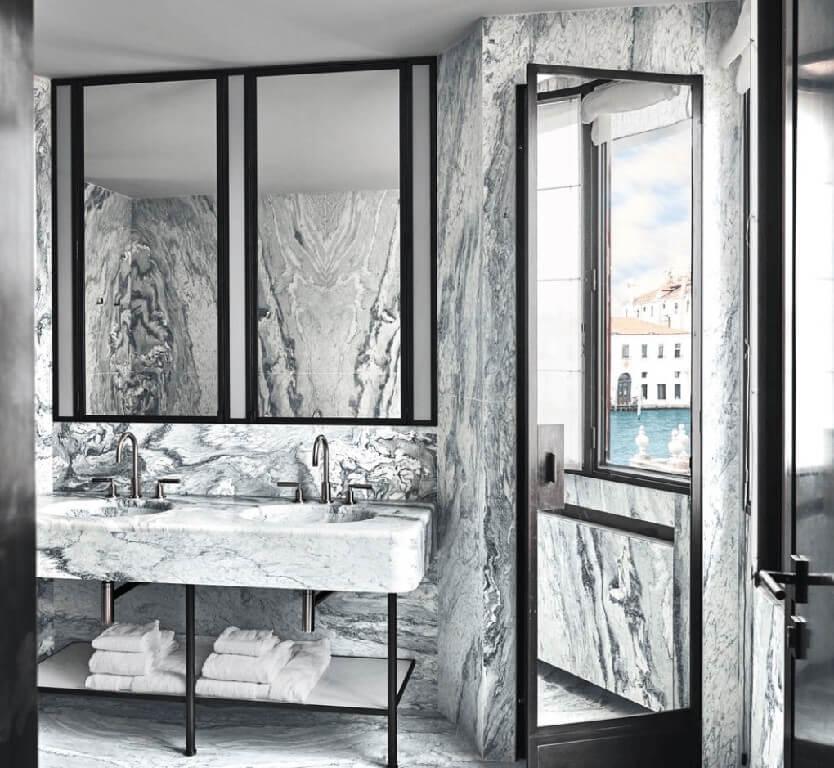 Sử dụng đá cẩm thạch cho nhà vệ sinh