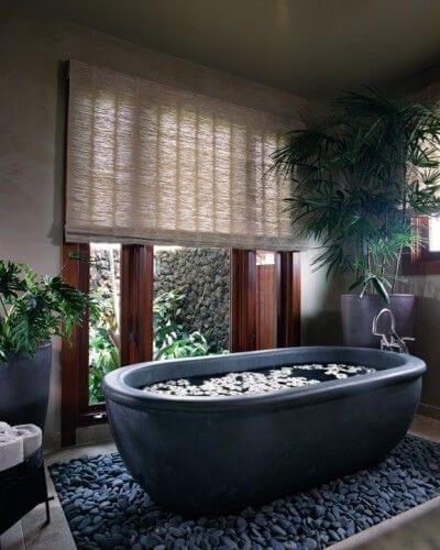 Nhà vệ sinh đẹp sang trọng lấy cảm hứng từ spa