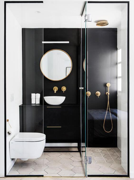 Nhà vệ sinh cao cấp đẹp sang trọng