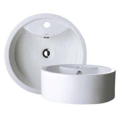 Báo giá chậu rửa mặt lavabo tròn Caesar