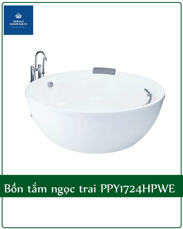 Bồn tắm ngọc trai PPY1724HPWE