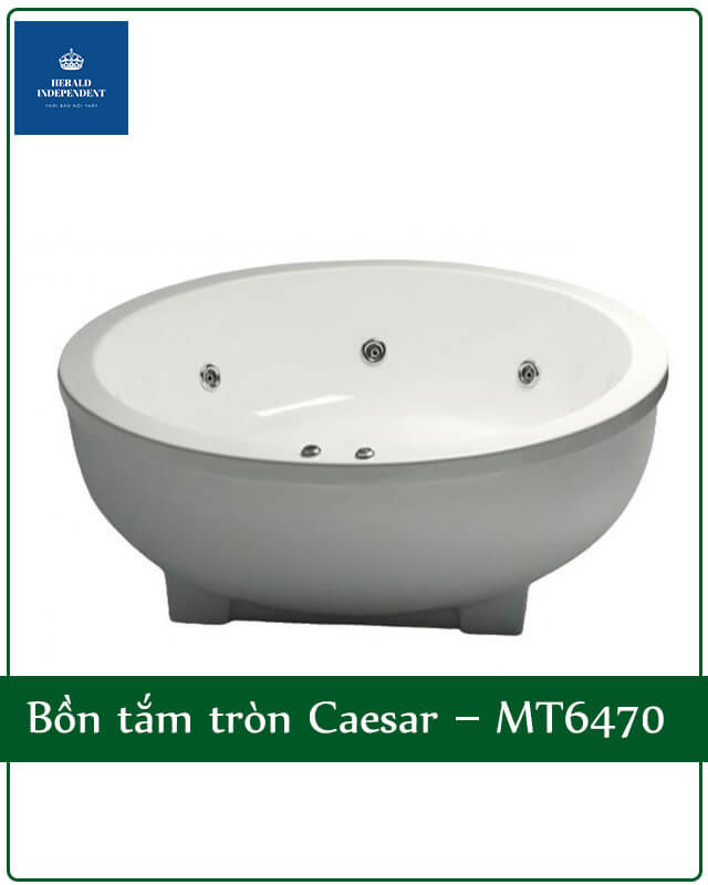 Bồn tắm tròn Caesar – MT6470