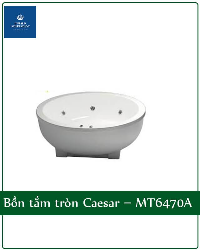 Bồn tắm tròn Caesar – MT6470A