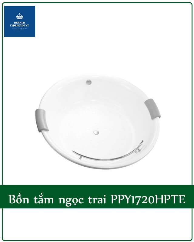 Bồn tắm tròn ngọc trai Toto PPY1720HPTE
