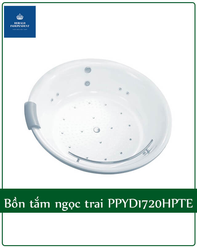Bồn tắm tròn ngọc trai Toto PPYD1720HPTE