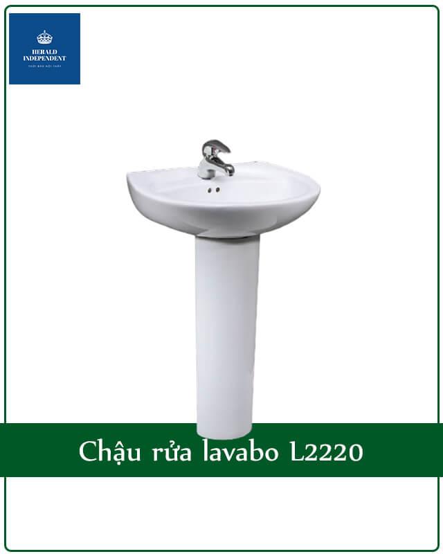 Chậu rửa lavabo L2220