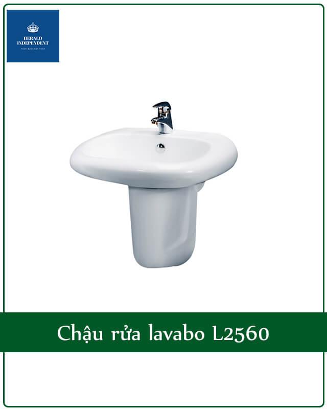 Chậu rửa lavabo L2560