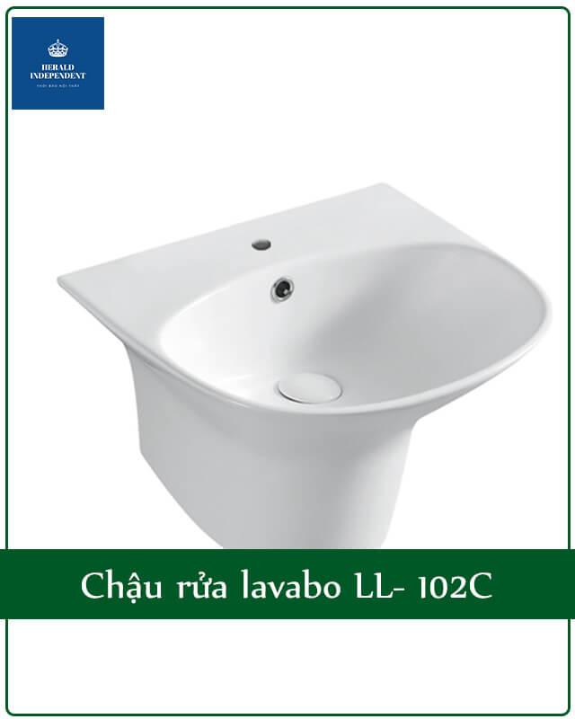 Chậu rửa lavabo LL- 102C