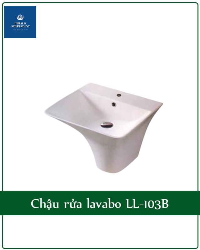 Chậu rửa lavabo LL-103B