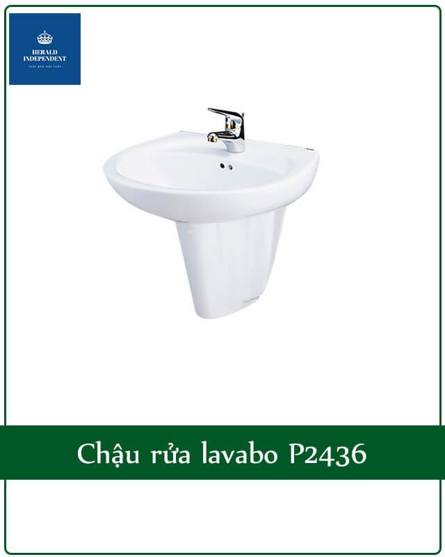 Chậu rửa lavabo P2436