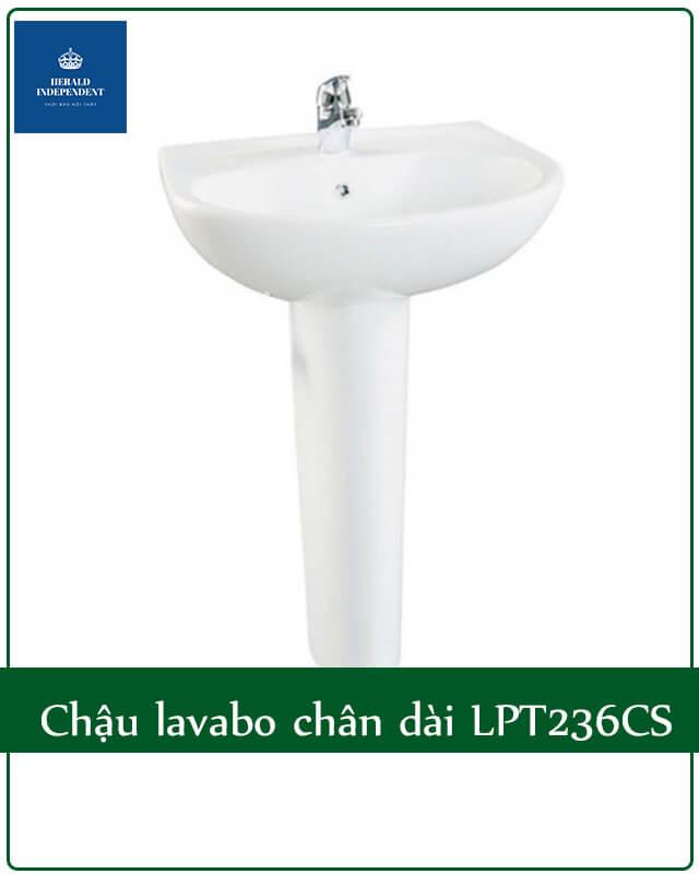 Chậu rửa lavabo chân dài LPT236CS