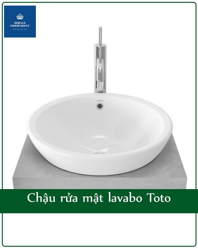 Chậu rửa mặt lavabo Toto