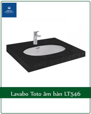 Lavabo Toto âm bàn LT546