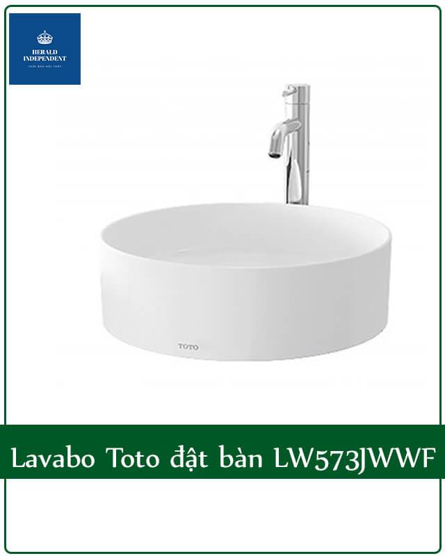 Lavabo Toto đặt bàn LW573JWWF