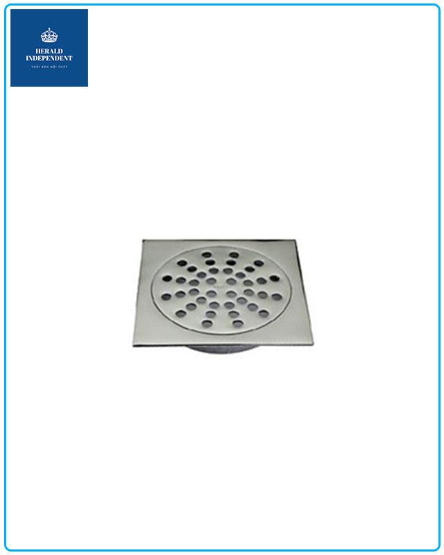 Phễu thoát sàn Hita Inox 201 phi 60 HN061T5F6 dành cho bồn tắm đứng - vách kính