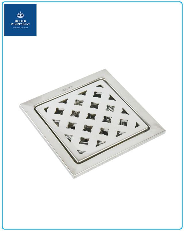 Phễu thoát sàn Hita Inox 304 HN051T2 dành cho bồn tắm đứng - vách kính