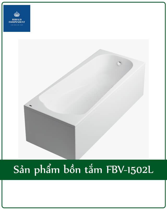 Sản phẩm bồn tắm FBV-1502L