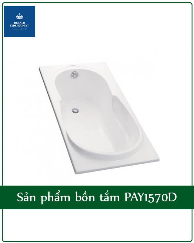 Sản phẩm bồn tắm PAY1570D