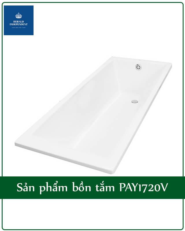 Sản phẩm bồn tắm PAY1720V