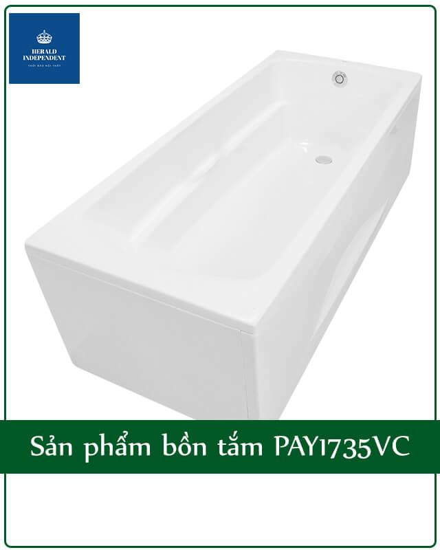 Sản phẩm bồn tắm PAY1735VC
