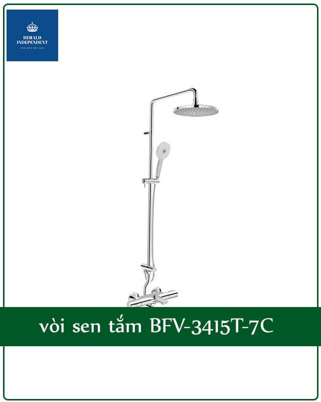 Vòi bồn tắm nằm Inax BFV-3415T-7C