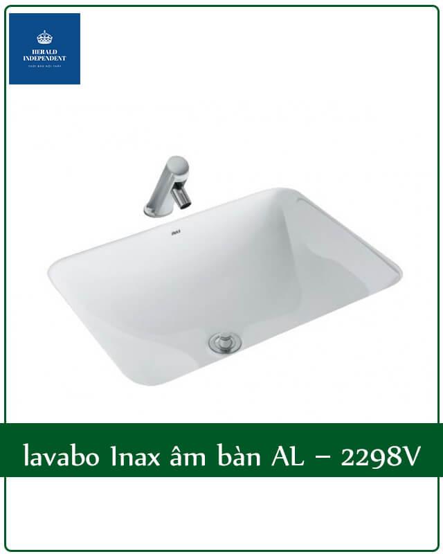 lavabo Inax âm bàn AL 2298V