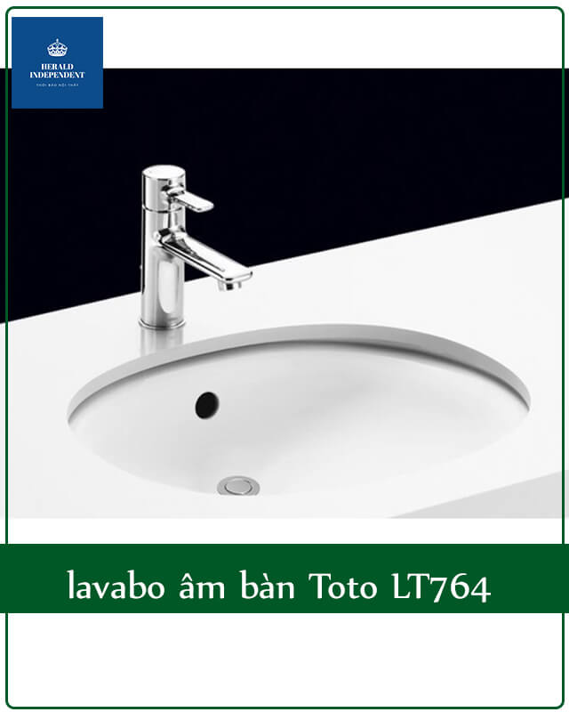 lavabo âm bàn Toto LT764