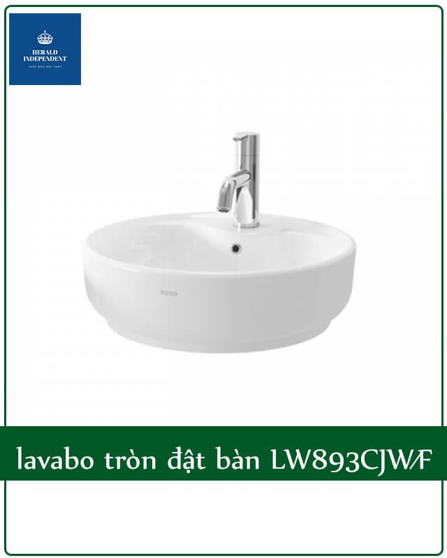 lavabo tròn đặt bàn LW893CJW