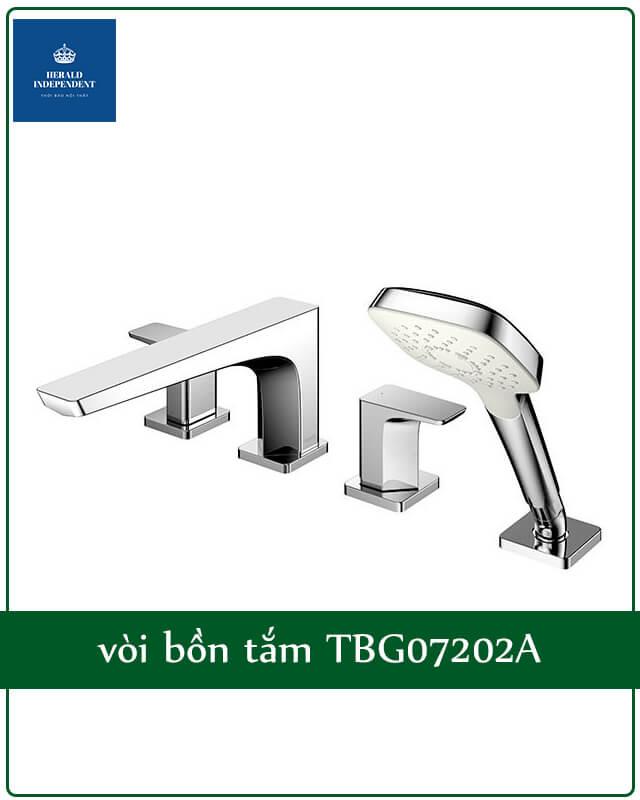 vòi bồn tắm TBG07202A