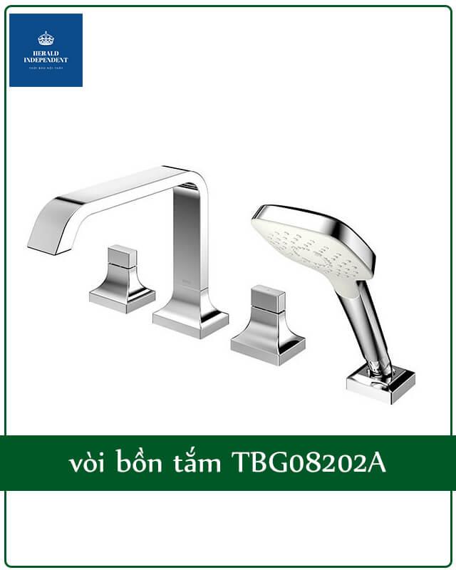 vòi bồn tắm TBG08202A