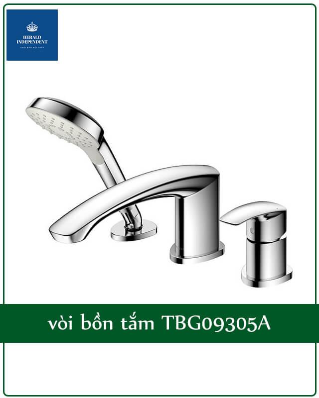 vòi bồn tắm TBG09305A