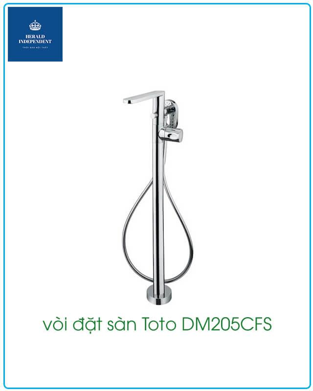 vòi đặt sàn Toto DM205CFS