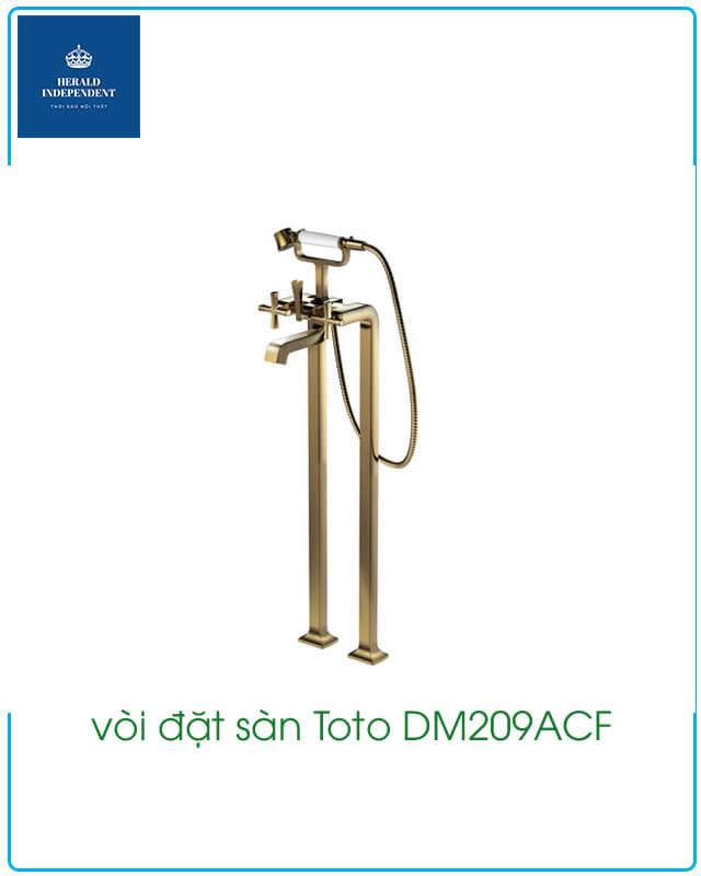 vòi đặt sàn Toto DM209ACF